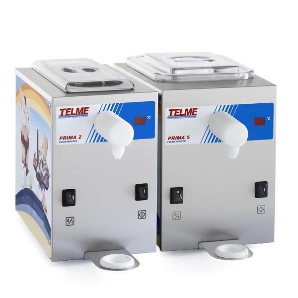 Automat do bitej śmietany Prima 2 Telme 4